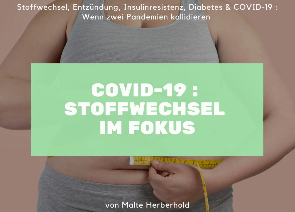 Stoffwechsel und COVID-19